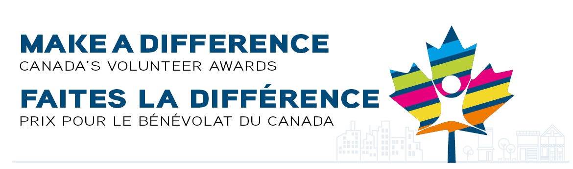 Make a diffrence Canada's Volunteer Awards